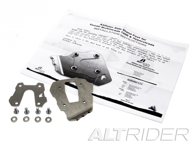 AltRider Side Stand Foot for Ducati Hyperstrada - Product Contents