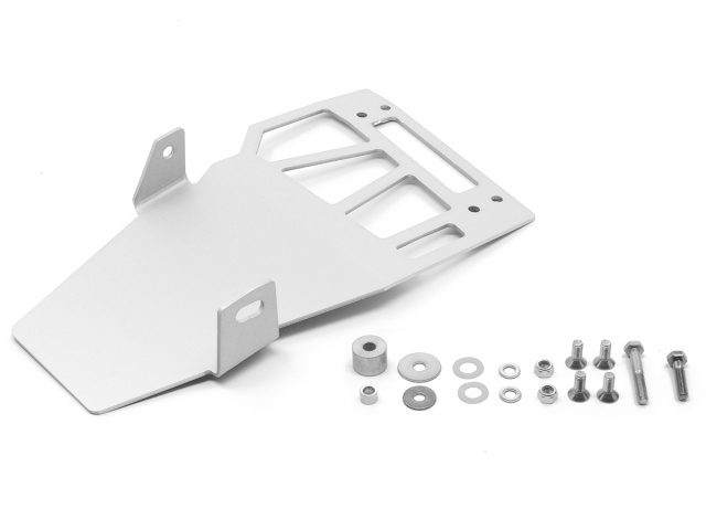 AltRider Skid Plate Extension for the Honda CRF1000L Africa Twin - Silver - Product Contents