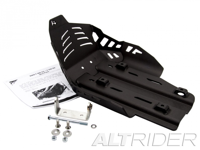 AltRider Skid Plate for the BMW F 800 GS /A - Black - Product Contents