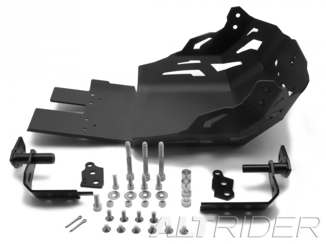 AltRider Skid Plate for the KTM 1050/1090/1190 Adventure / R - Black - Product Contents
