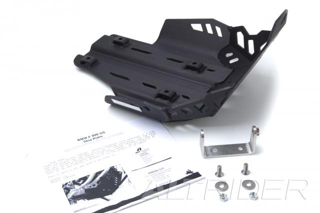 AltRider Skid Plate Kit for BMW F 700 GS - Black - Product Contents