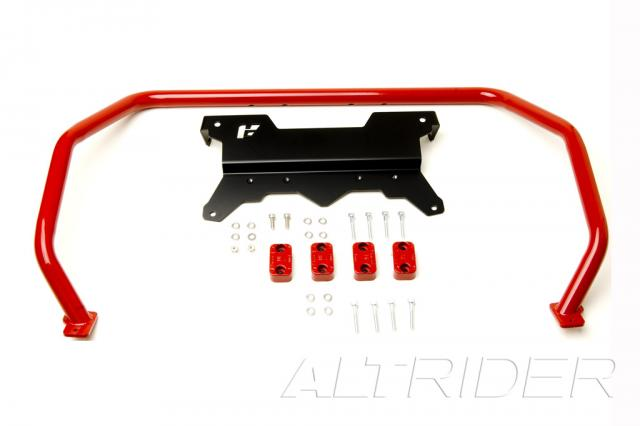 AltRider Upper Crash Bars Assembly for the BMW R 1200 GS (2008-2012) - Red - Product Contents