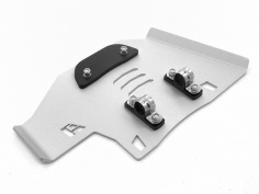 AltRider Center Stand Skid Plate for the Honda CRF1000L Africa Twin - Silver - Feature