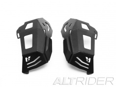 AltRider Cylinder Head Guards for the BMW R 1200 Water Cooled - Black - Feature