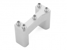 AltRider DualControl - 25.4mm Riser for the Suzuki DR 650 - Silver - Feature