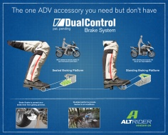 AltRider DualControl Brake System for the Yamaha Tenere 700 - Feature