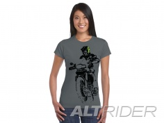 AltRider F 800 Throttle Up Women's T-Shirt - Large - Feature