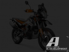 AltRider Side Stand Enlarger for the KTM 790 Adventure / R - Feature