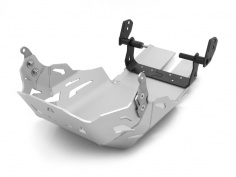 AltRider Skid Plate for the KTM Super Adventure R and S - Silver - Feature